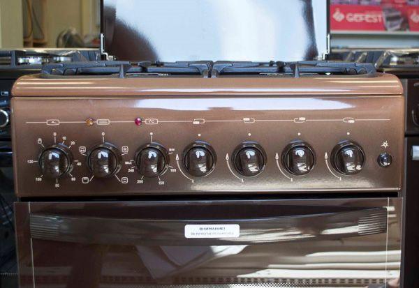 Газоэлектрическая плита Gefest 5102-02 0001 панель управления