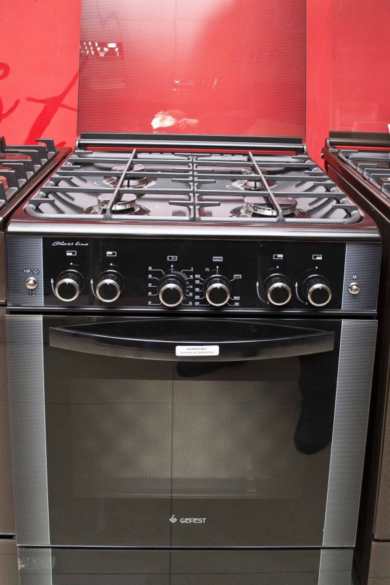 Газовая плита Gefest 6300-02 0046 (6300-02 СД1А) - фасад