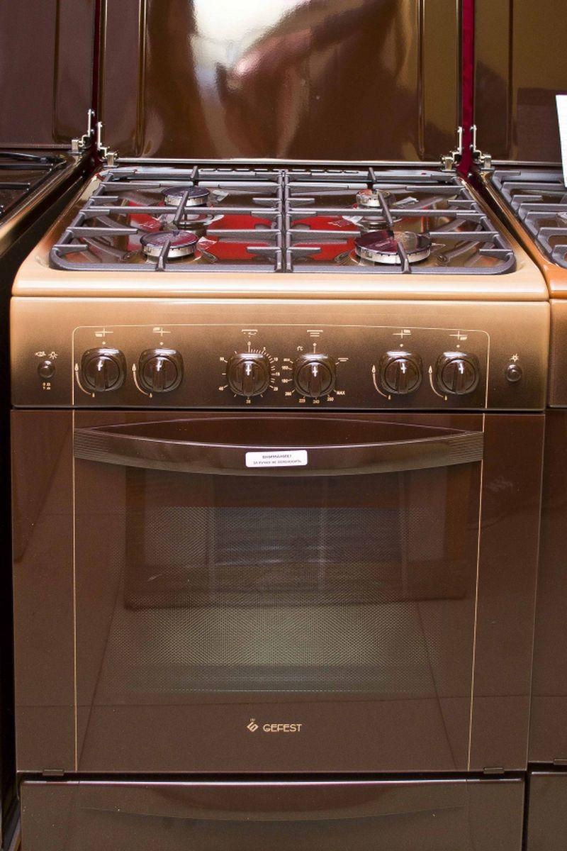 Газовая плита Gefest 6100-02 0001 (6100-02 К) - фасад