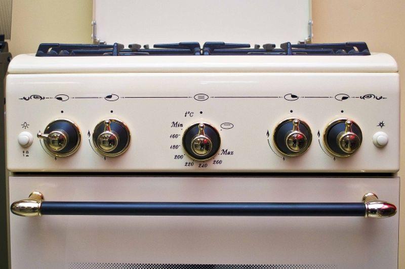 Газовая плита Gefest 5100-02 0086 - панель управления