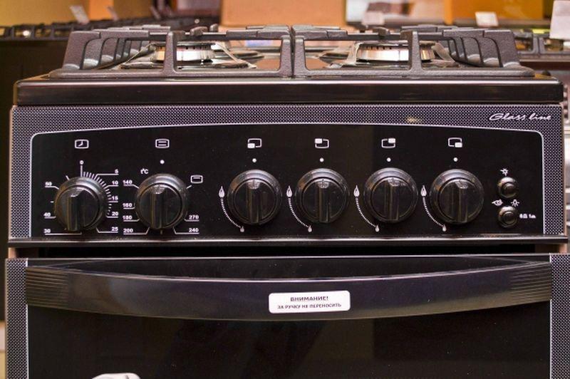 Газовая плита Gefest 3300 К32 - панель управления