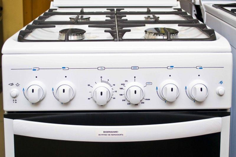 Газовая плита Gefest 5100-02 0002 (5100-02 C) - панель управления