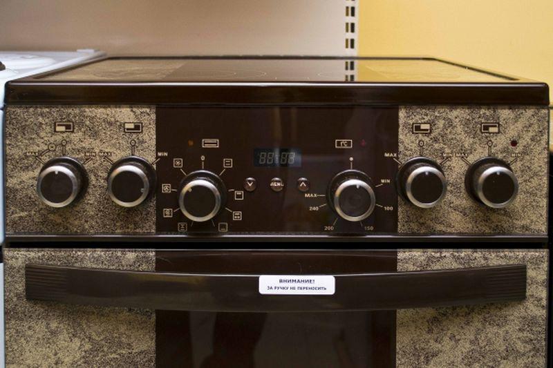 Электрическая плита Gefest 5560-03 0001 - панель управления