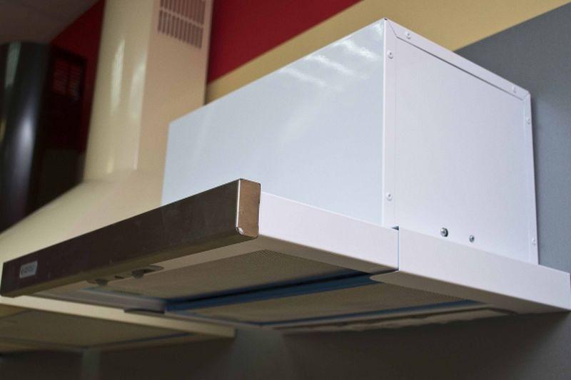 Кухонная вытяжка Gefest ВО 4501 К20 - вид сбоку