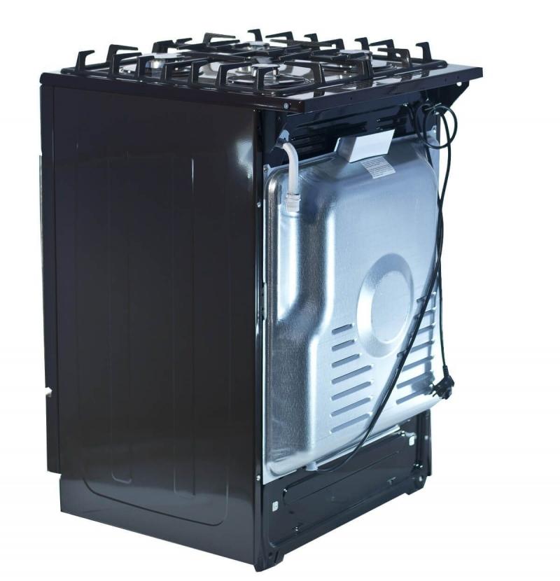 3D модель: Газовая плита Gefest 1500 К19 вид сзади