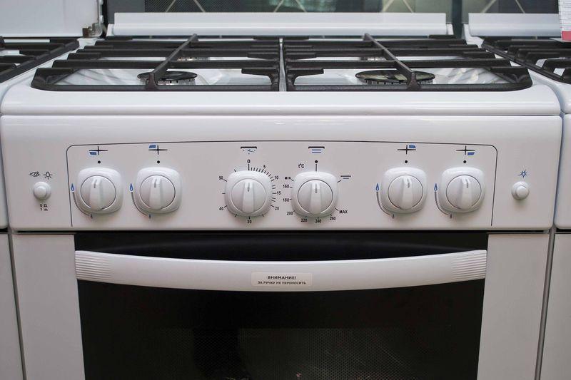 Газовая плита Gefest 6100-02 0002 (6100-02 С) - панель управления