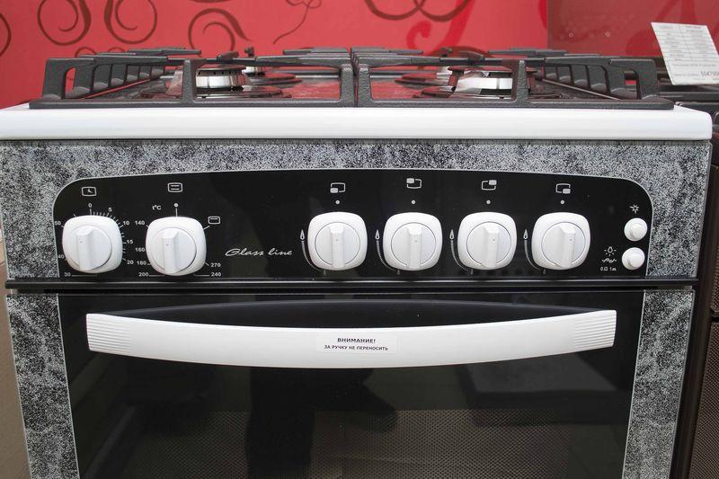 Газовая плита Gefest 1500 - панель управления