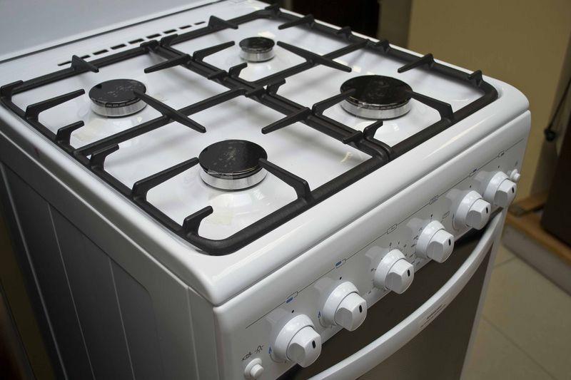 Газовая плита Gefest 5100-02 - конфорки