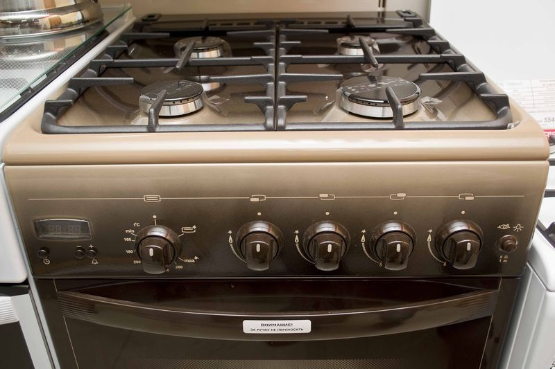 Газовая плита Gefest 5100-03 0001 (5100-03 К) - панель управления