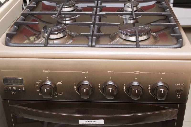 Газовая плита Gefest 5100-04 0001 (5100-04 К) - панель управления