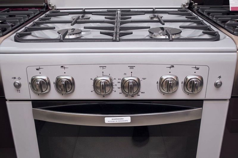 Газовая плита Gefest 6100-02 0068 - панель управления