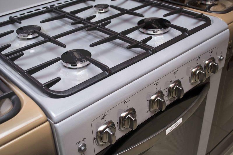 Газовая плита Gefest 6100-02 0068 - конфорки