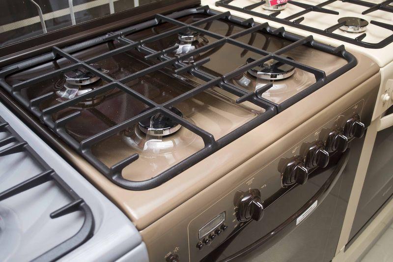 Газовая плита Gefest 6100-04 0003 (6100-04 СK) - конфорки