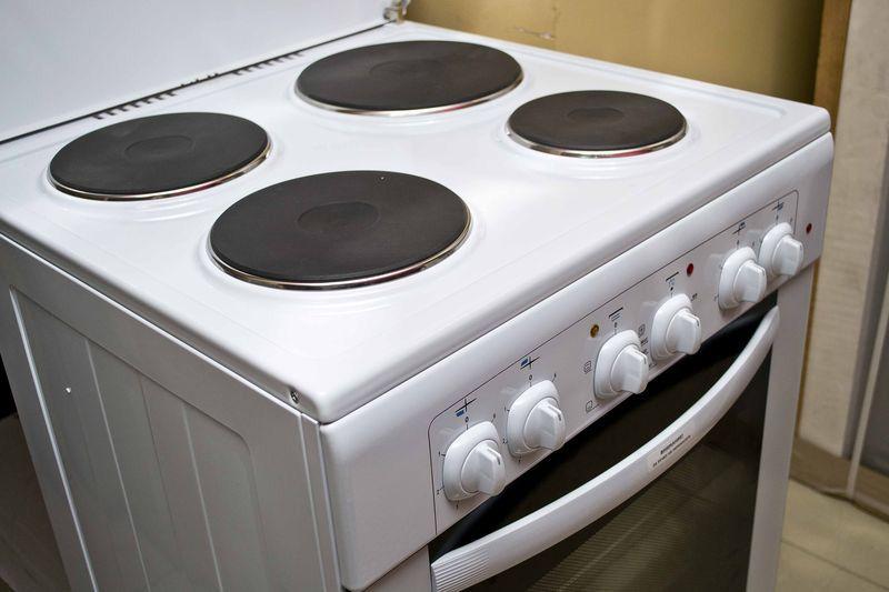 Электрическая плита Gefest 6140-01 - конфорки
