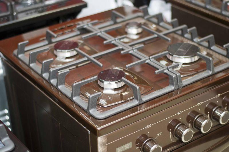 Газовая плита Gefest 5500-03 0045 - панель управления
