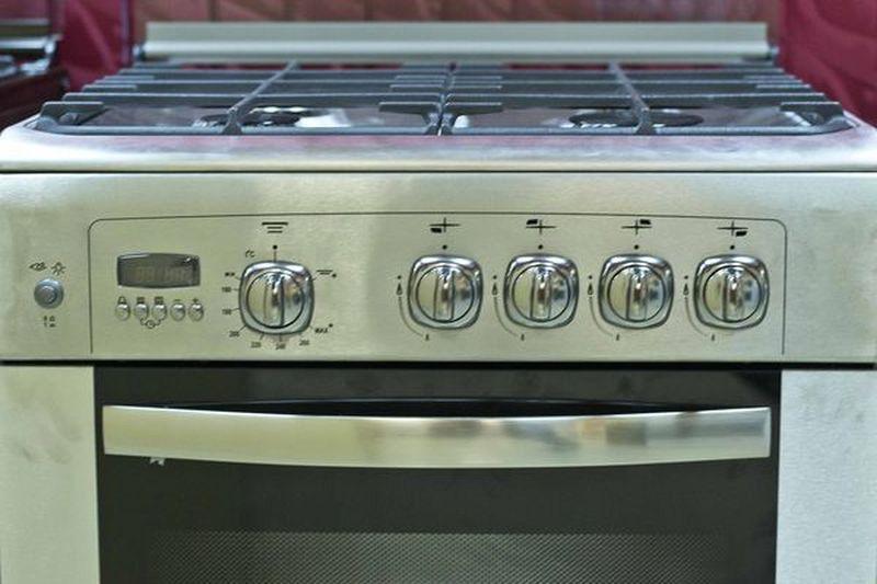 Газовая плита Gefest 6100-04 0004 (6100-04 СН2) - панель управления
