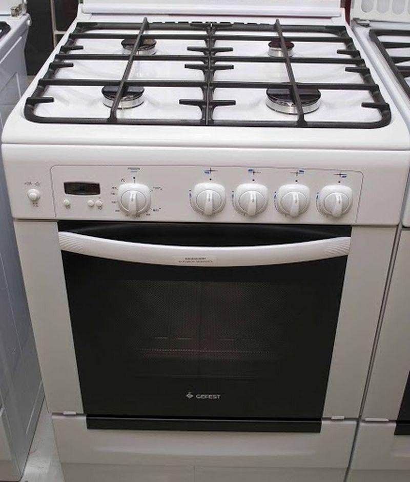 Газовая плита Gefest 6100-03 0002 (6100-03 С) - фасад