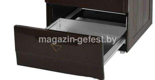Газоэлектрическая плита Gefest 5102-02 0001 выдвижной ящик