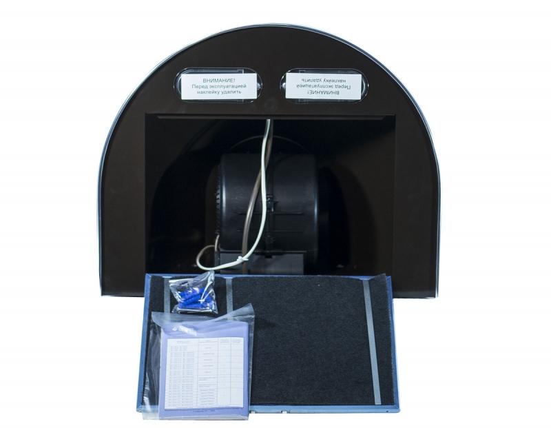 3D модель: кухонная вытяжка GEFEST 1603 К17 изнутри