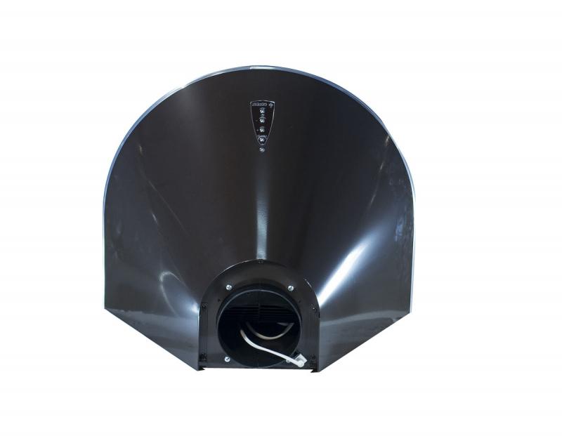 3D модель: кухонная вытяжка GEFEST 1603 К17 вид сверху