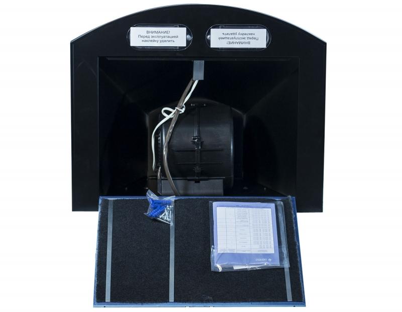 3D модель: кухонная вытяжка GEFEST 1604 К73 изнутри