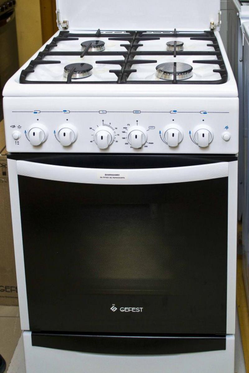 Газовая плита Gefest 5100-02, фасад