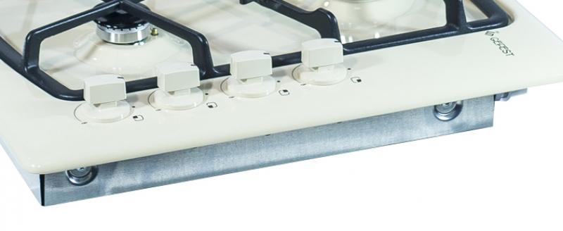 3D модель: варочная панель GEFEST 1211 К8 панель управления