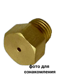Сопло латунное  ф 1,45 920151022200145